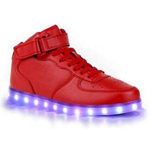 Tus zapatillas con luces LED, la nueva forma de hacer tendencia